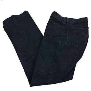 NYDJ Sz 10 Bootcut Jeans Black